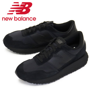 正規 new balance (ニューバランス) MS237 UX1 スニーカー BLACK NB770 Dワイズ 26.0cm