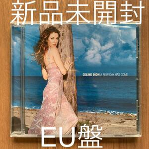 Celine Dion セリーヌ ・ディオン A new day has come ア・ニュー・デイ・ハズ・カム EU盤 新品未開封