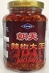 朝天辣椒大王(唐辛子漬け)激辛  380g