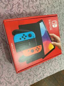 Nintendo Switch 有機EL ネオンレッド ネオンブルー 未開封