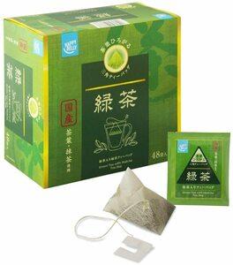 Happy Belly 伊藤園 国産 宇治抹茶入り緑茶 ティーバッグ 48袋