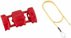 コネクター単体 10個+配線ガイド エーモン 配線コネクター(赤) DC12V110W以下/DC24V220W以下 (E673)