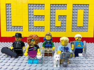 ☆住民☆ レゴ ミニフィギュアシリーズ ミニフィグ フィットネスインストラクター ハイカー ケガ人 ギャング など ( LEGO 人形