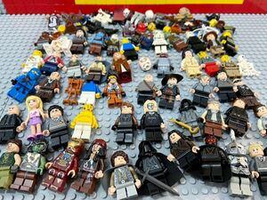 ☆大量☆ レゴ ミニフィグ 約50体 ナズグール ジャックスパロウ アイアンマン など ( LEGO 人形 ロードオブザリング スターウォーズ