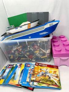 ☆説明書つき☆ レゴ 大量 約17キロ シティ クリエイター ダイノ など ( LEGO Kg 大きな船