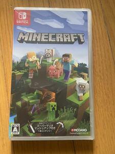 Minecraft Nintendo Switch版  新品未開封 マインクラフト Minecraft ニンテンドースイッチ Nintendo Switch パッケージ