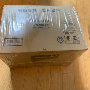 【未使用品】シャープ SHARP KS-S10J-S(シルバー) ジャー炊飯器 5.5合 KSS10JS