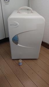 ② 作動品 冷温庫 小型冷蔵庫 保温 保冷 ポータブル 家庭用ACコード 中古 ★☆