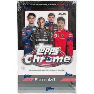 ★★SSS 2020 Topps Chrome Formula 1 Racing Hobby Box 新品未開封!