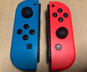 Nintendo Switch Joy-Con ネオンレッド ネオンブルー L R 左右セット ニンテンドースイッチジョイコン