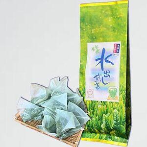 新品 目玉 水出し煎茶ティーバッグ 静岡抹茶入り J-JN お茶 パック 1リットル用 5g×25個袋入(125g) 緑茶 冷茶