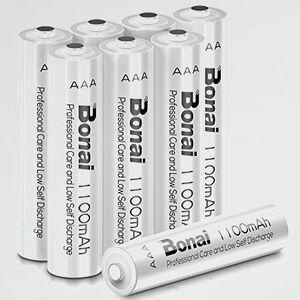 新品 目玉 単4形 BONAI S-HY 環境友好タイプ(高容量1100mAh 約1200回使用可能) 充電式電池 ニッケル水素電池
