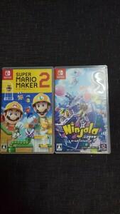 Nintendo Switch スーパーマリオメーカーとニンジャラ  Switchソフト