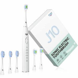電動歯ブラシ 音波歯ブラシ 2種類のブラシヘッド 朝と夜では異なる体験