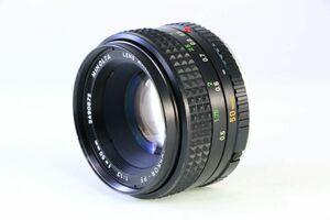 ミノルタ MINOLTA MC ROKKOR-PF 50mm F1.7★うすくもり★AC956