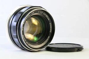 実用★ミノルタ MINOLTA MC ROKKOR-PF 55mm F1.7★うすくもり★109