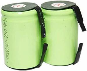 4/5 正規容量 国内から発送 ニッケル水素 4/5 SC タブ付 充電池 バッテリー 2000mah (2)