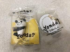 【D-1】  Yonda? パンダ ブックマーク キーホルダー 未使用