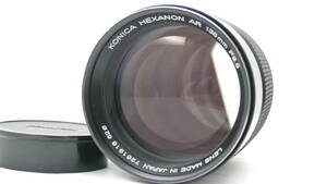 ◆実用美品◆KONICA HEXANON AR 135mm F2.5 コニカ ヘキサノン レア玉♪