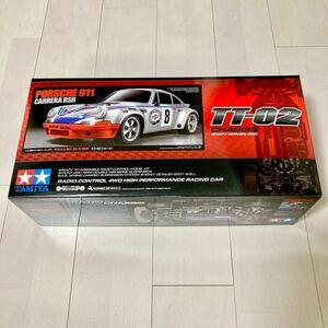 ☆新品☆ タミヤ TT-02 シャーシ ポルシェ 911 カレラ RSR