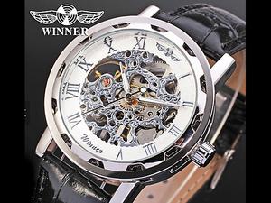 ■新品■スケルトン腕時計 高級 機械式 最新モデル 39i 限定品 メンズ お洒落 gaga milano シンプル ビジネス 美しすぎるデザイン