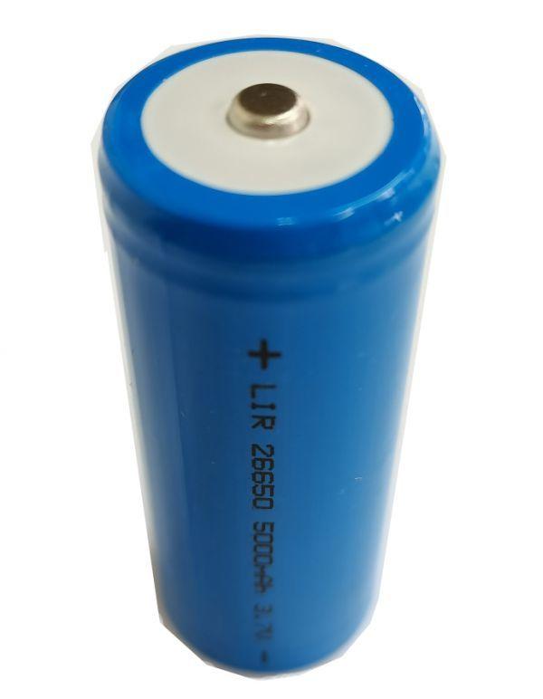 26650 リチウムイオン電池 3.7V 5000mAh 充電式 電池(1本セット)三ヶ月安心保証付き 送料無料 高品質商品 送料無料