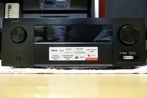 ★使用少 DENON AVR-X4700H、8K Ultra HD、IMAX Enhanced、Auro-3D対応、9.2ch AVサラウンドレシーバー 保証残★