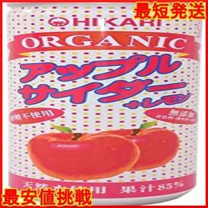 限定価格250ml×30本 wsLDx F1IwR オーガニックアップルサイダー+レモン 光食品2P64