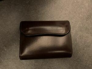 旧ロゴ ワイルドスワンズ ENO サドルプルアップ チョコ wildswans三つ折り財布