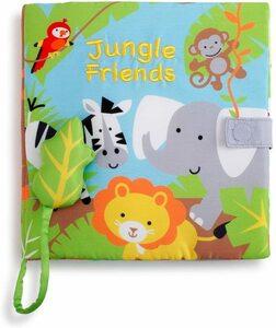 ♪Nat&Jules サウンドブック Jungle Friends 鳴き声/音が聞ける/しかけ絵本/洋書