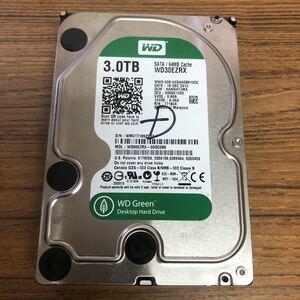 (X14)HDD WDC WD30EZRX 3.0TB ジャンク
