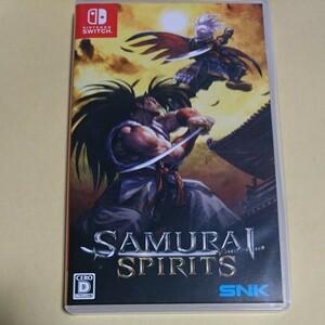 switch サムライスピリッツ スイッチ ソフト 中古 samurai spirits ニンテンドー