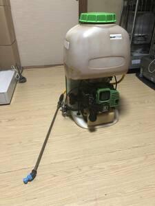 エンジン始動OK!KIORITZ 共立 高圧背負動噴 20L 背負い式動力高圧噴霧器 SHP705 小型 軽量 農業機械 造園工具 害虫駆除 消毒作業