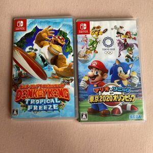 Nintendo Switch ドンキーコング マリオ&ソニック ソフトセット