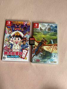 Nintendo Switch モンスターハンターストリーズ 桃鉄 ドラゴンズドグマ ソフトセット