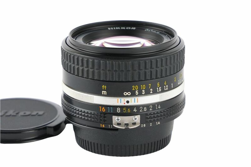 03558cmrk Nikon Ai NIKKOR 50mm F1.4S Ai-S 単焦点 標準レンズ Fマウント