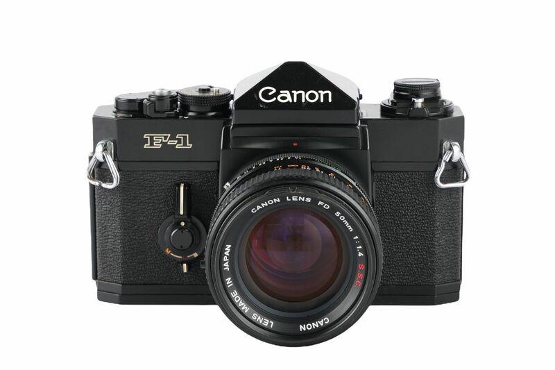 03629cmrk Canon F-1 前期型 + FD 50mm F1.4 S.S.C MF一眼レフ フイルムカメラ