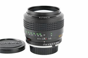 03988cmrk MINOLTA MC ROKKOR-PF 85mm F1.7 単焦点 大口径レンズ SRマウント