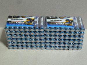 (47) パナソニック エボルタネオ アルカリ乾電池 単4形96本