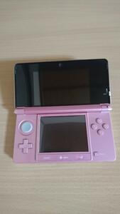 【ジャンク】 3ds 本体 ピンク