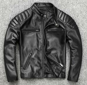 熱売り仕様メンズ 羊革 ジャケット ライダース 登山、バイク ジャケット 羊革 お洒落 ジャケット 新品S-5XLサイズ 選択