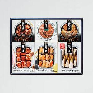 新品 未使用 6種類詰め合わせギフトセット(KT2)(缶詰 缶つま H-XJ たこ)[お中元 お誕生日] おつまみ いか明太 オイルサーディン