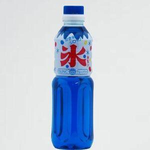 新品 未使用 かき氷シロップ サンク E-7I ブル-ハワイ 500ml