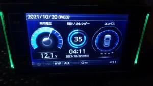 ★「最新9月1日版入」美品 ZERO 701V OBD2対応 コムテック ⑮★