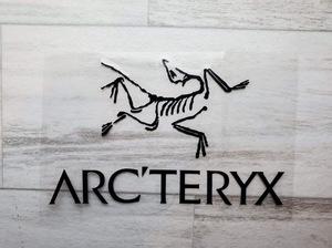 ◆新品◆ ARC'TERYX アークテリクス 切文字ステッカー ブラック