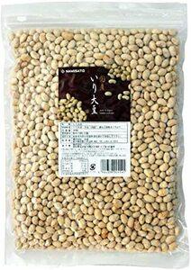 波里 国産 煎り大豆 無添加 500g 無塩