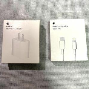 iPhone USB-C to Lightningケーブル+ACアダプタ18W