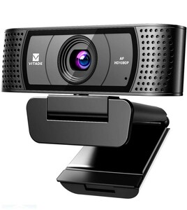 webカメラ フルHD 100°超広角 マイク内蔵 pc外付けカメラ
