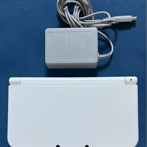 【美品】 Newニンテンドー3DS LL 本体 パールホワイト NEW NINTENDO 3DS LL New3DSLL 任天堂