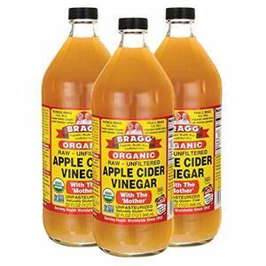 ◆新品◆CY3個 Bragg0N-86オーガニック アップルサイダービネガー 【国内発送 正規品】 946ml りんご酢 (3個